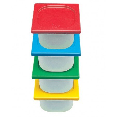 STORAGE CONTAINER FULL - 530 x 325 x 65mm -11Lt - 1