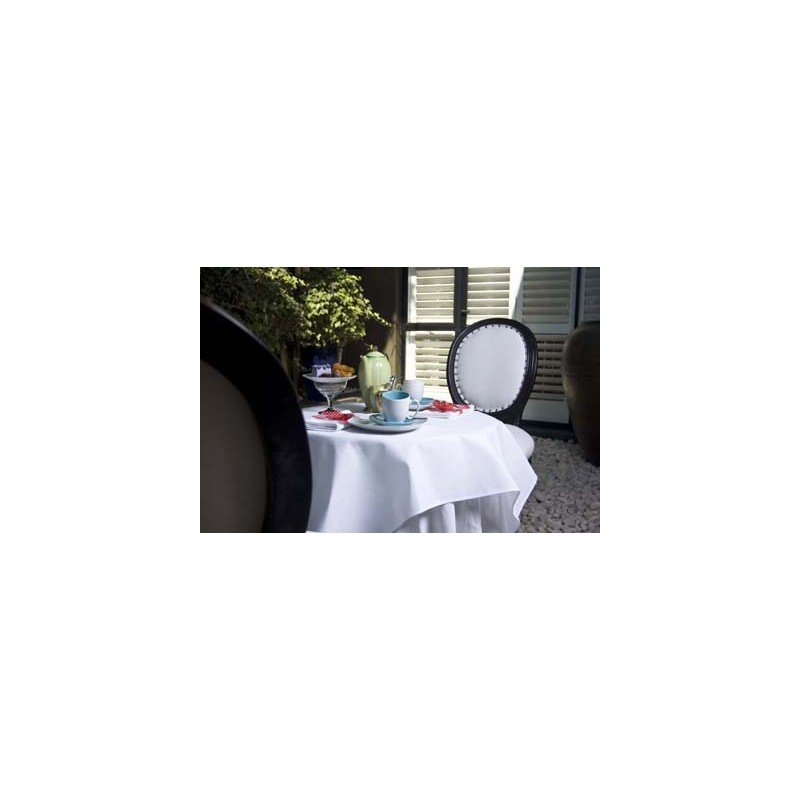 CHEFEQUIP TABLE CLOTH 1350 x 2300 WHITE - RECTANGULAR - 1