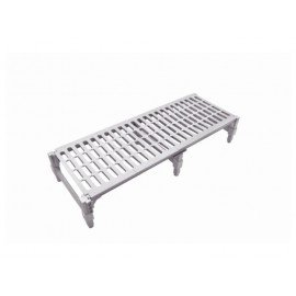 PLASTIC DUNNAGE RACK - 530 x 910 x 225mm - 1