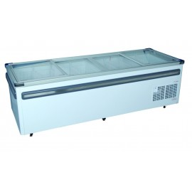 ISLAND FREEZER - 998L - GLASS SLIDER - 1