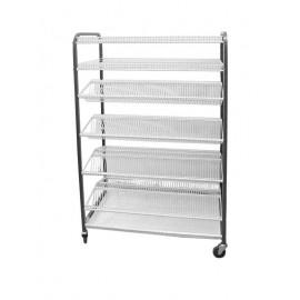 CROCKERY RACK MOBILE - F/STANDING - 1130mm (600 PCS) - 1
