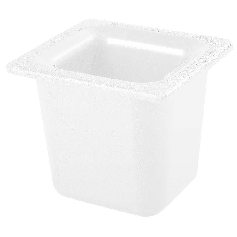 COLDMASTER - SIXTH SIZE FOOD PAN - 152mm - WHITE - 1