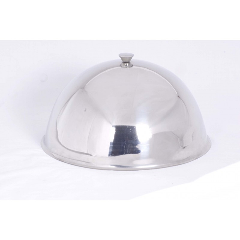 DOME CLOCHE - S/STEEL - 300mm - 1