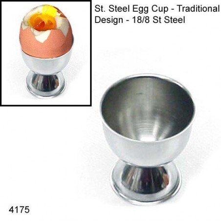 EGG CUP STAINLESS STEEL - 1