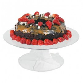 CAKE STAND - CLEAR - 1