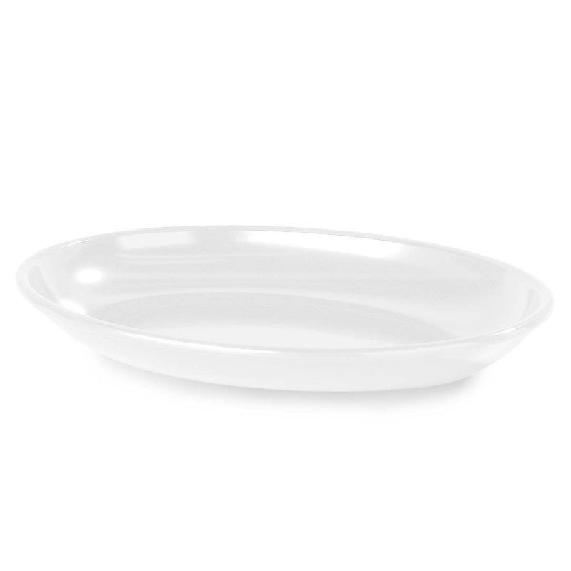 OVAL PLATTER - 406 X 305mm - 2.8Lt - BLACK - 1