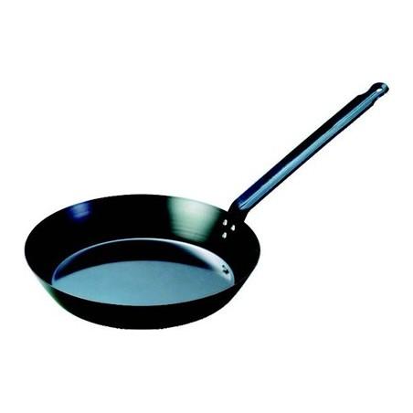 PAN BLACK STEEL FRYING - 200mm - 1