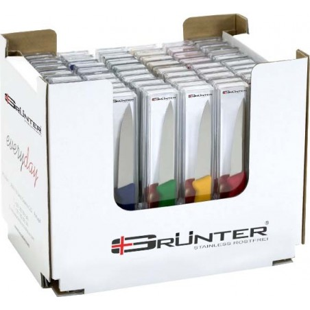 PAIRING KNIFE 100mm COLOUR BOX SET - 1