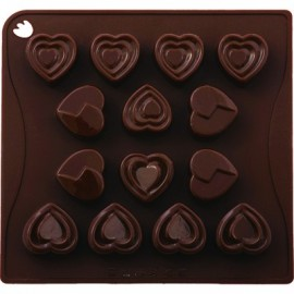 MOULD CHOCOICE 14 PIECE HEART - 1