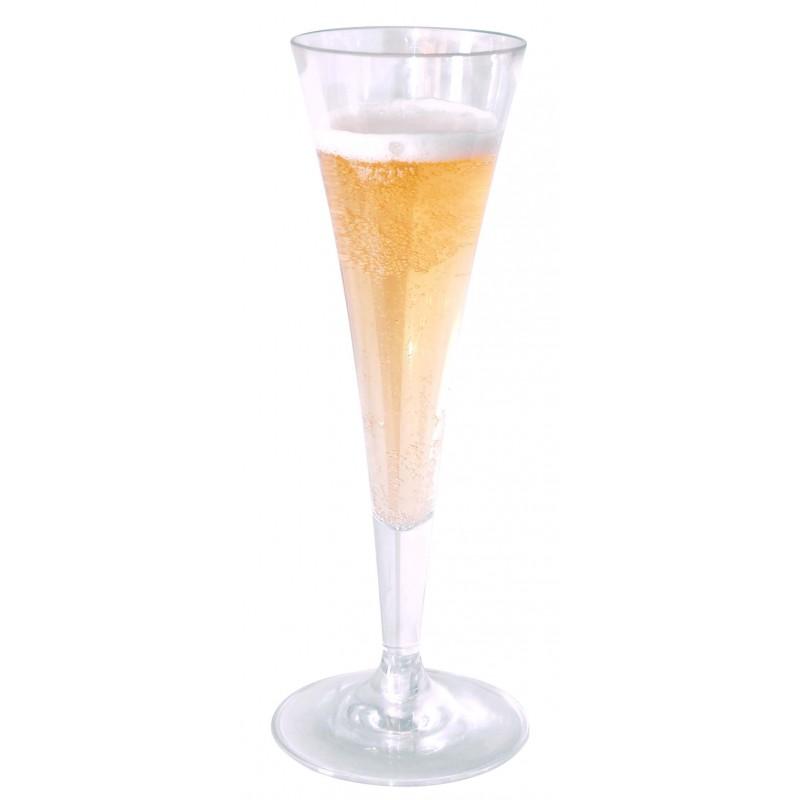 GLASSWARE POLYCARBONATE  CHAMPAGNE  150ML
