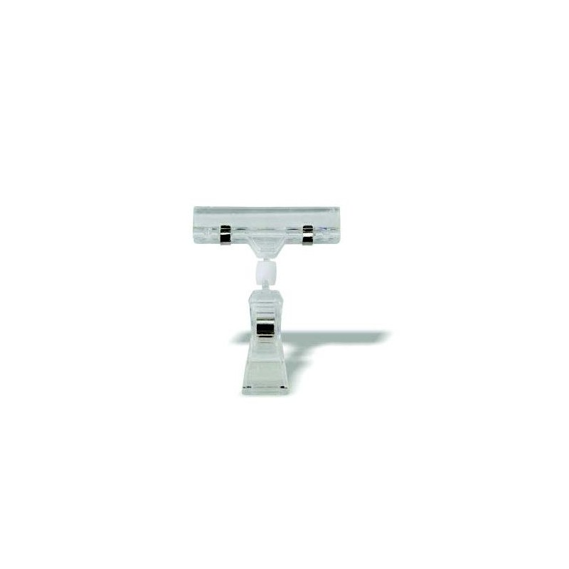 PLASTIC DISPLAY CLIP - SUCTION BASE - 1