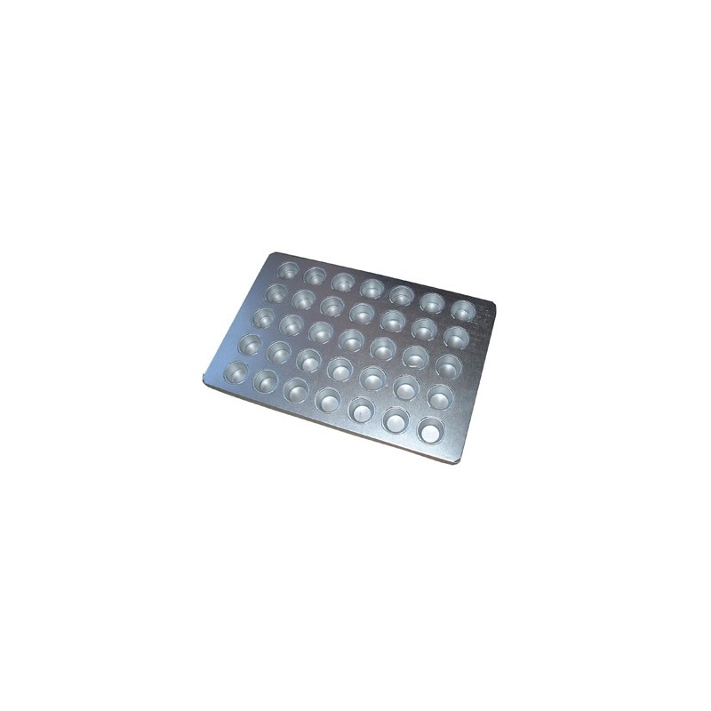 BAKING TRAY ALUSTEEL - SMALL MUFFIN 35 CUP 600 x 400mm - 1