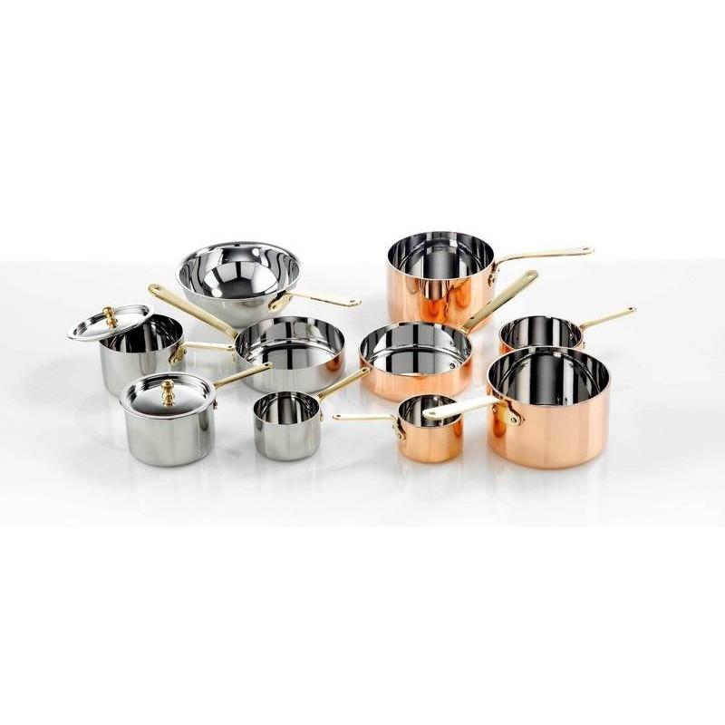 MINI S/STEEL FRYING PAN - 120 x 35mm - 1