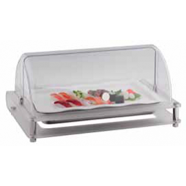COLD DISPLAY UNIT HI-LINE S/STEEL, POLYCARBONATE, ACRYLIC COVER, TWO ICE PACKS INCLUDED - 1