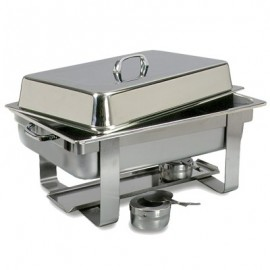 CHAFING DISH RECTANGULAR - POLISHED - 1