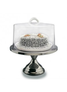 CAKE STAND STAINLESS STEEL  330 x 180mm