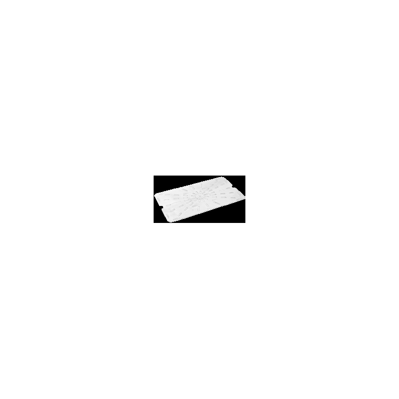 INSERT - SIXTH DRAIN SHELF PC (CLEAR) - 1