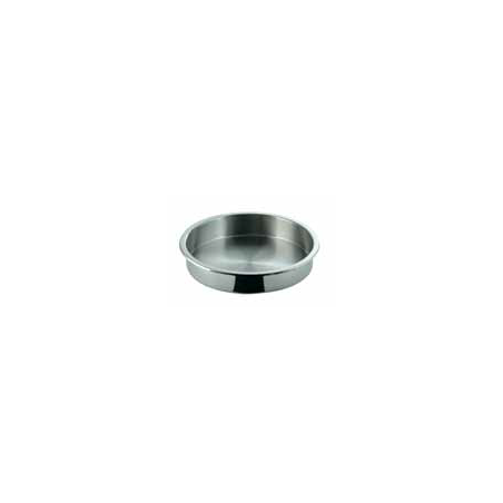 INSERT ROUND S/STEEL FOOD PAN - 1