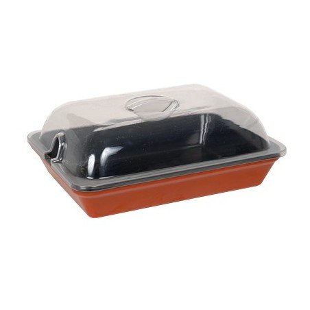 DISPLAY DISH LID - 350mm (NOT FOR HEAT) - 1