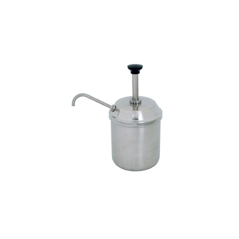 CONDIMENT SERVER  COMPLETE JAR AND PUMP