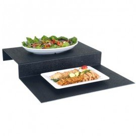 STEP RISERS ABS 2 STEPS (BLACK) 600 x 750 x 95mm