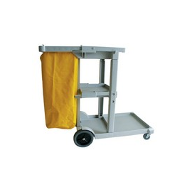 JANITOR TROLLEY PLASTIC - 1140 x 510 x 980mm - 1