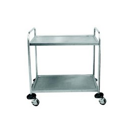 TEA TROLLEY S/STEEL GLOBAL - 3 SHELF  - 1