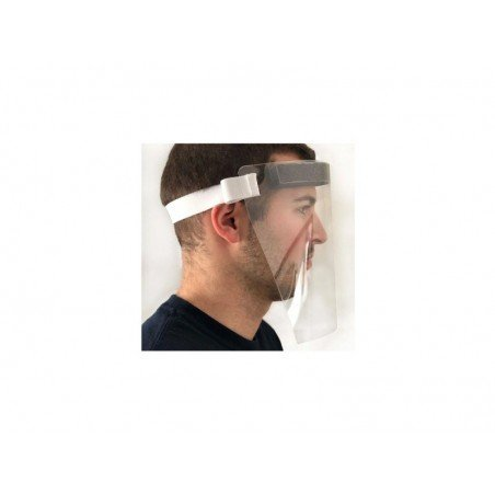 FACE SHIELD WITH ELASTIC STRAP - 1