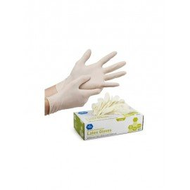 LATEX STERILE GLOVES POWDER FREE - 1