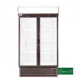 BEVERAGE COOLER DOUBLE HINGED DOOR - HD1360 - 1