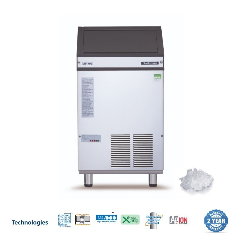 SCOTSMAN Self Contained Ice Maker /Flake Ice - 108kg - 1
