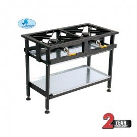 BOILING TABLE GAS - COMMERCIAL - 2 BURNER STRAIGHT - 1