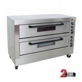 DECK OVEN ANVIL - 6 TRAY - DOUBLE DECK - 1