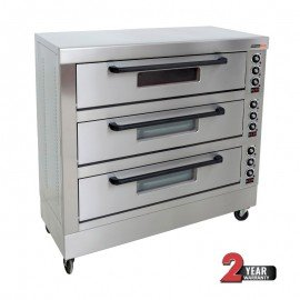 DECK OVEN ANVIL - 9 TRAY - TRIPLE DECK - 1