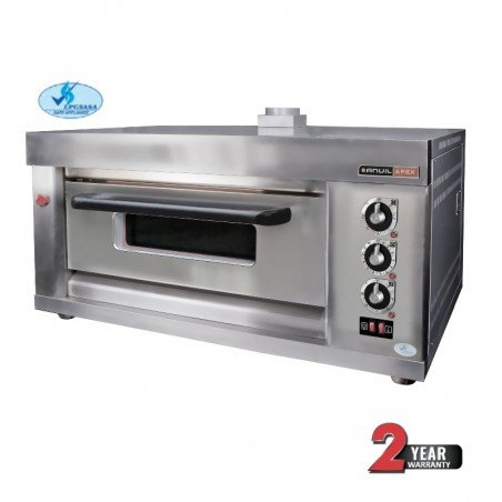 DECK OVEN ANVIL - GAS - 2 TRAY - SINGLE - 1