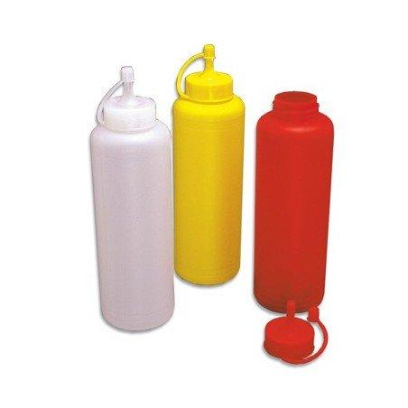 PLASTIC DISPENSER  CLEAR  1L (6 Pack)