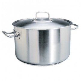 POT STAINLESS STEEL  CASSEROLE  6Lt (240x140mm)