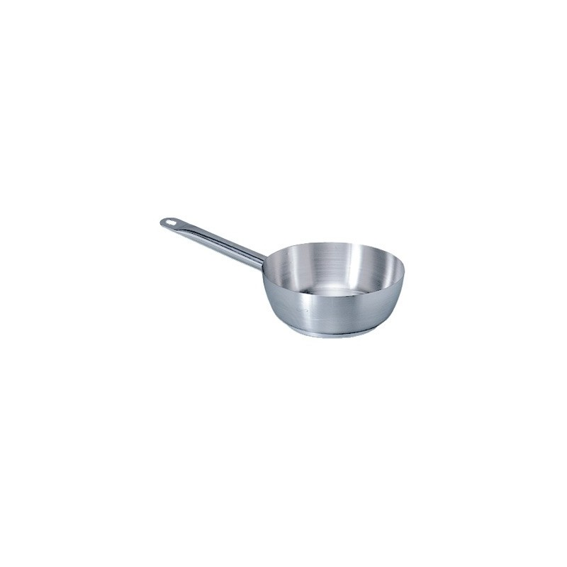 CONICAL SAUCE PAN STAINLESS STEEL