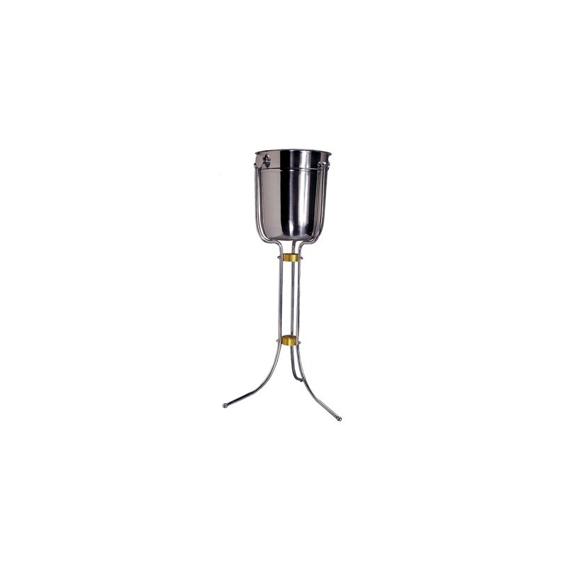 ICE BUCKET STAND STAINLESS STEEL FLOOR STANDING  715mm  EXCLUDES ICE BUCKET