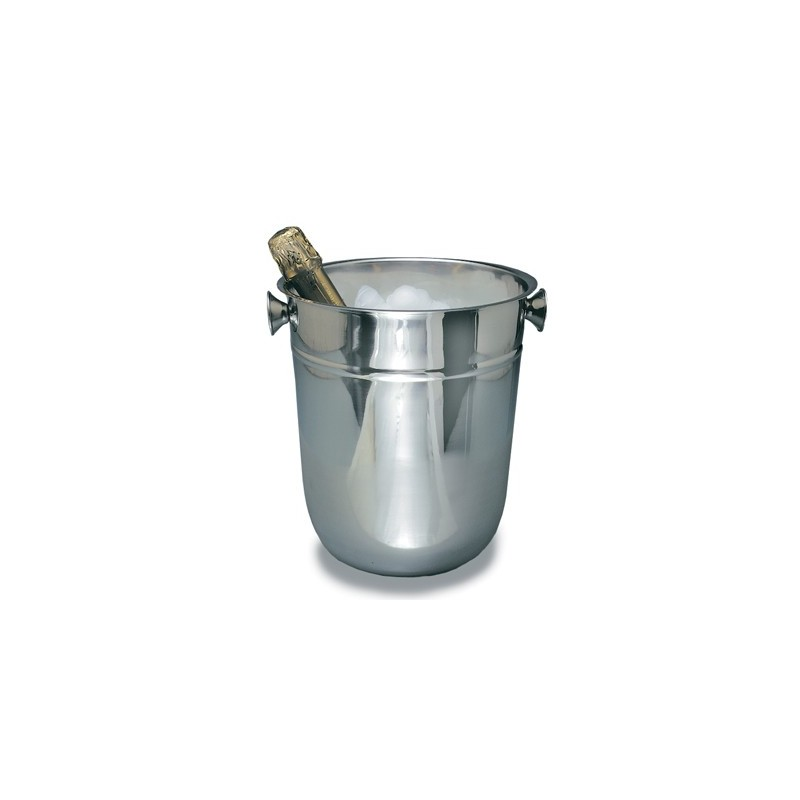 ICE BUCKET STAINLESS STEEL  8LT (CHAMPAGNE)  215 x 185MM
