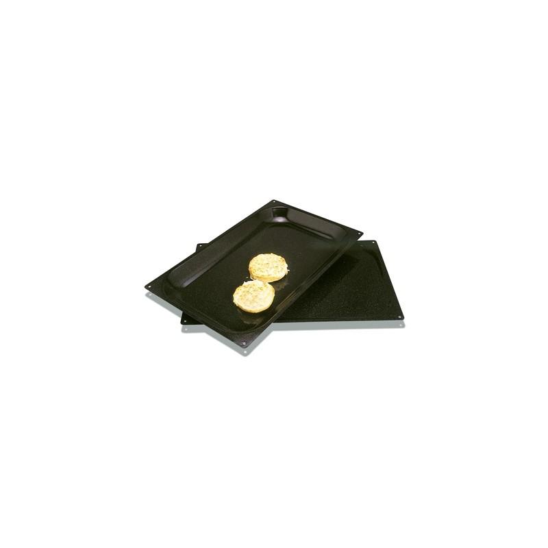 BAKING TRAY ENAMELLED - 535 x 325 x 10mm (BLACK) - 1