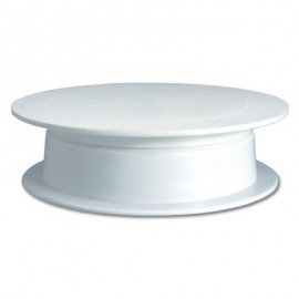 TURN TABLE (ICING) PLASTIC  300 x 85mm