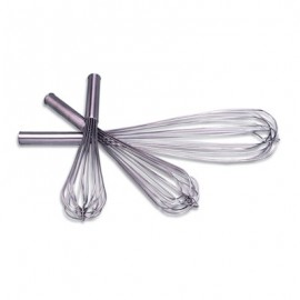 WHISK FRENCH STAINLESS STEEL  300mm